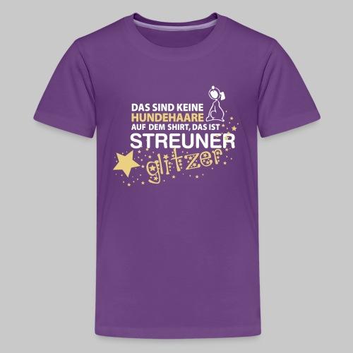 Streuner Glitzer - Teenager Premium T-Shirt