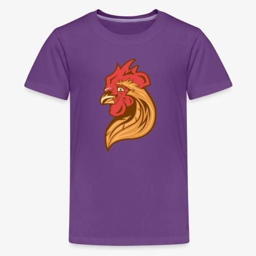 Cool Chicken - Teinien premium t-paita