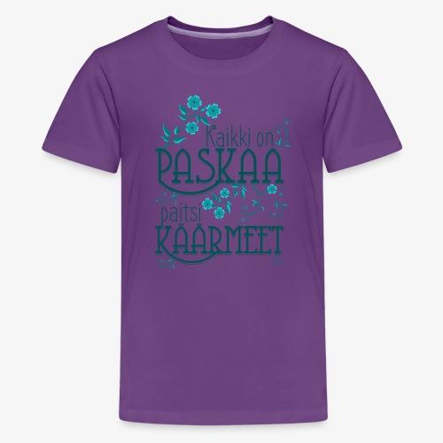 Paitsi Käärmeet III - Teinien premium t-paita