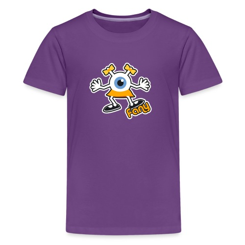 Fany Full (Color) - T-shirt Premium Ado
