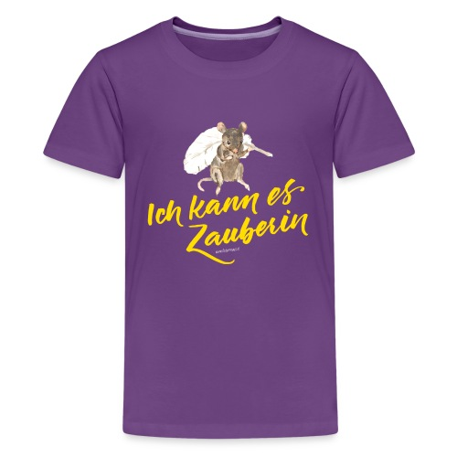 Ich kann es ZAUBERIN - Teenager Premium T-Shirt