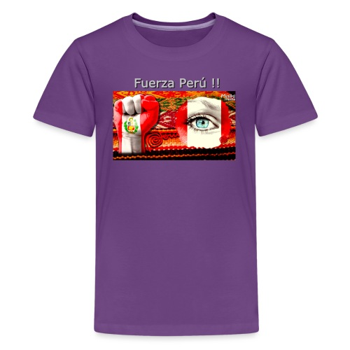Telar Fuerza Peru I - T-shirt Premium Ado
