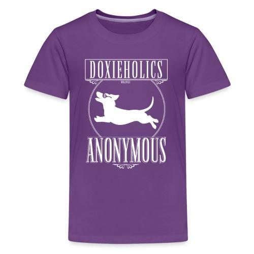 Doxieholics - Teinien premium t-paita