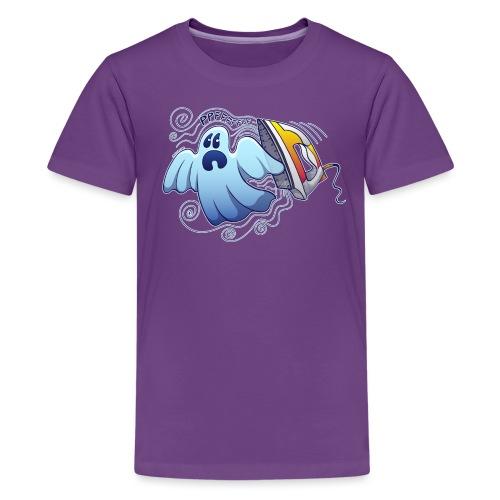 Ghost Ironing Nightmare - Teenage Premium T-Shirt