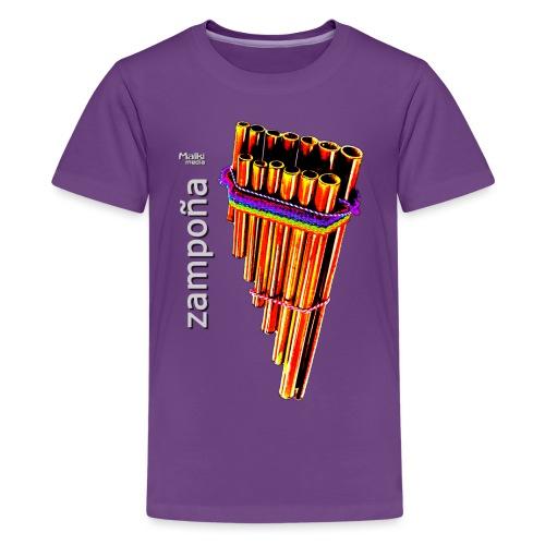 Zampoña clara - Teenage Premium T-Shirt