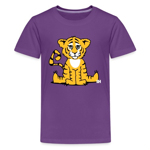 Tiger cub - Teenage Premium T-Shirt