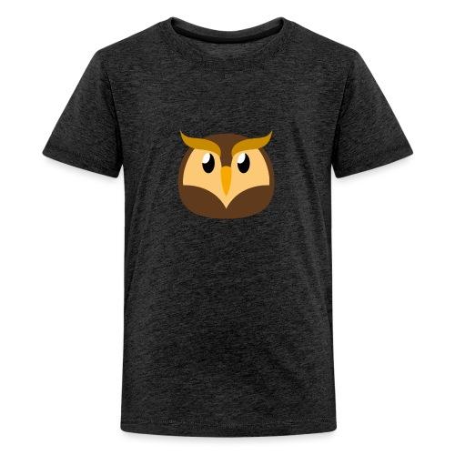 Eule »Schuhu« - Teenage Premium T-Shirt