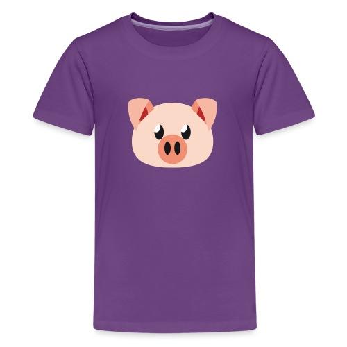 Schweinchen »Oink Oink« - Teenage Premium T-Shirt