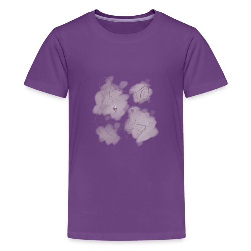 Violet splash chinchilla 2 - Teinien premium t-paita
