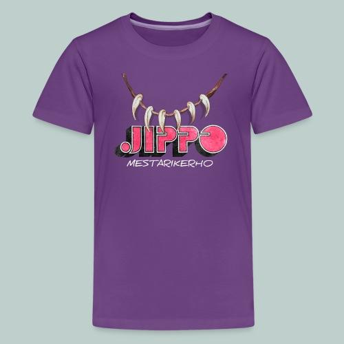jippomestari_pink - Teinien premium t-paita