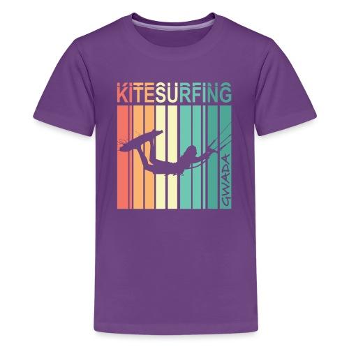 Kitesurfing GWADA - T-shirt Premium Ado