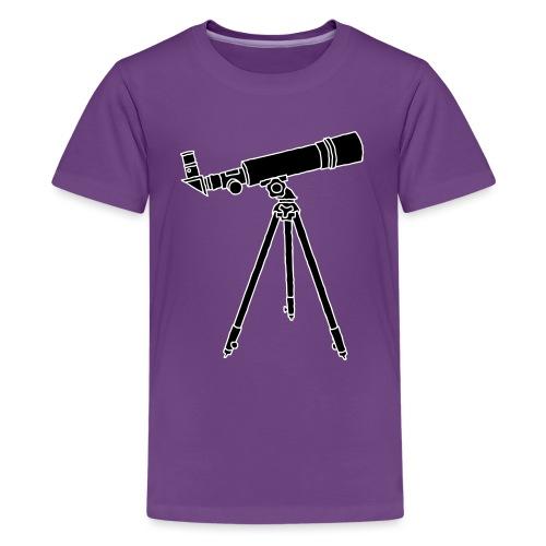Teleskope Fernrohr 2 - Teenager Premium T-Shirt