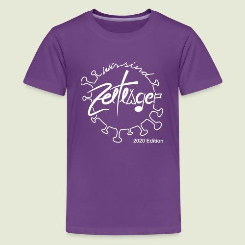 Zeltlager Logo 2020 Edition - Teenager Premium T-Shirt