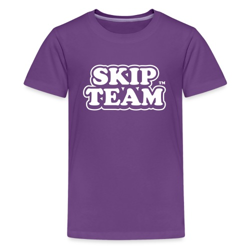 skipteam logo - Teenage Premium T-Shirt