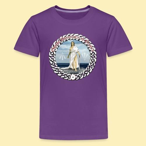 Ordre Druidique de Dahut Logo - T-shirt Premium Ado