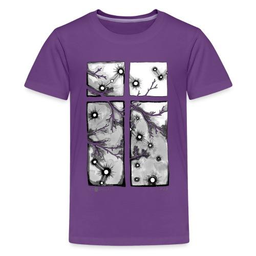 Für immer und ein Tag (grau) - Teenager Premium T-Shirt