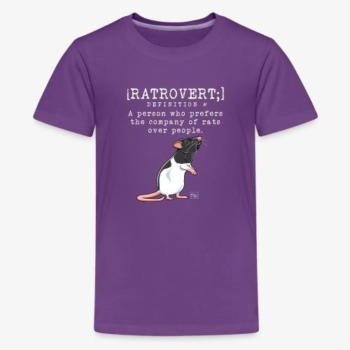 Ratrovert I - Teinien premium t-paita