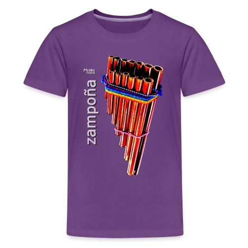 Zampoña - Camiseta premium adolescente