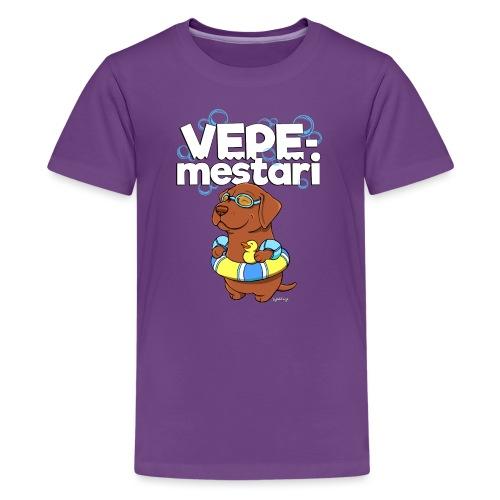 vepemestari - Teinien premium t-paita