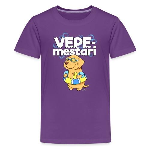 vepemestari3 - Teinien premium t-paita