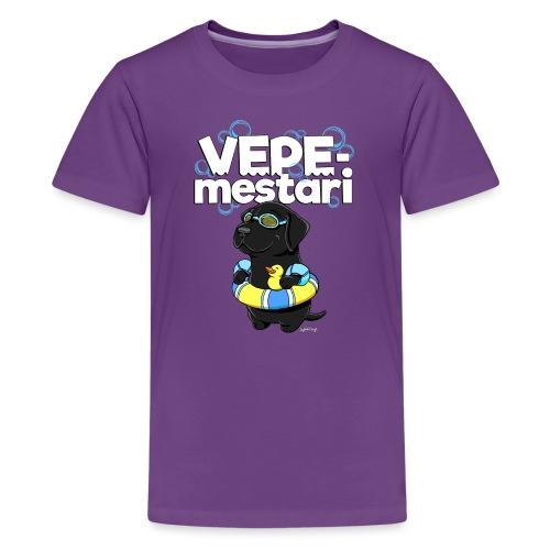 vepemestari2 - Teinien premium t-paita