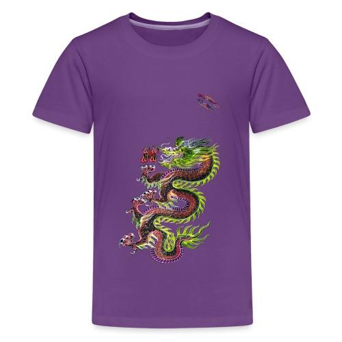 Dragon Randy Design - Teenager Premium T-Shirt
