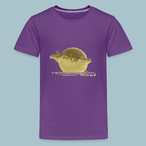Rollin' Wild - Crocodile - Teenage Premium T-Shirt