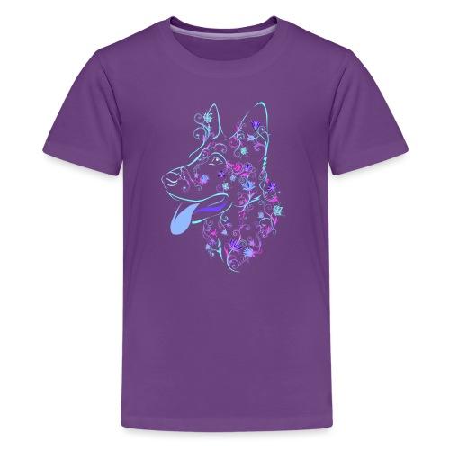 FlowerShepherd Nights - Teinien premium t-paita