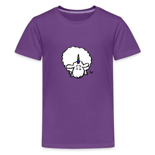 Ewenicorn - es ist ein Regenbogen-Einhornschaf! - Teenager Premium T-Shirt
