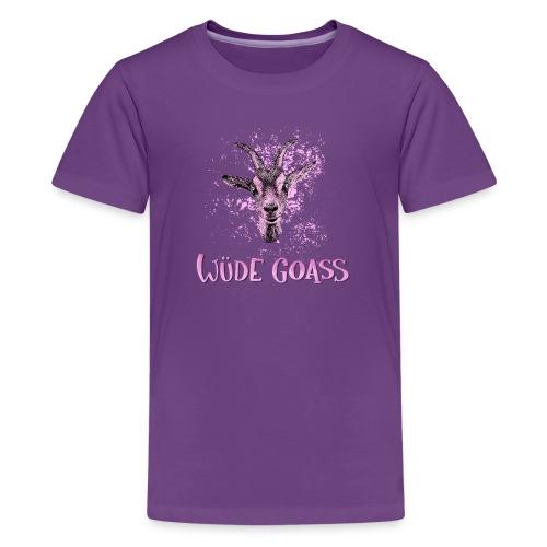 Wüde Goass - Teenager Premium T-Shirt