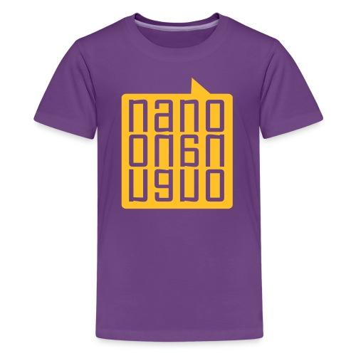 NanoNanoNano - Camiseta premium adolescente