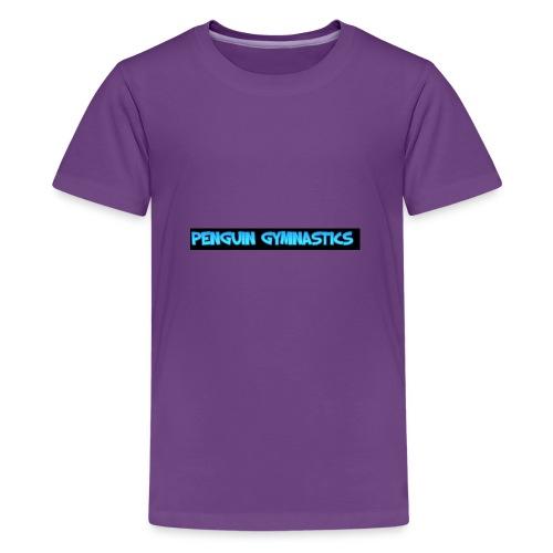 The penguin gymnastics - Teenage Premium T-Shirt