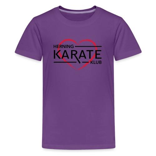 HKK Hjerte - Teenager premium T-shirt