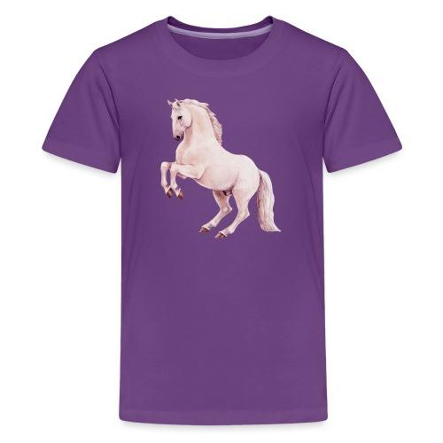 White stallion - Teenager Premium T-Shirt