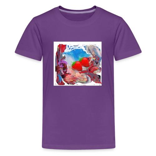 Wilde Erdbeeren - Teenager Premium T-Shirt