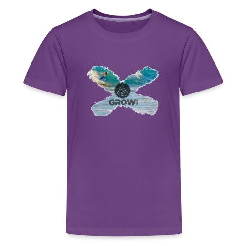 Grow Sports Surf X - Teenager Premium T-Shirt