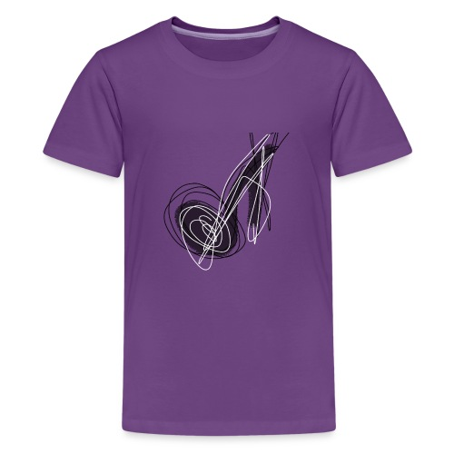 MUSIC NOTE ABSTRACT - Teenager Premium T-Shirt