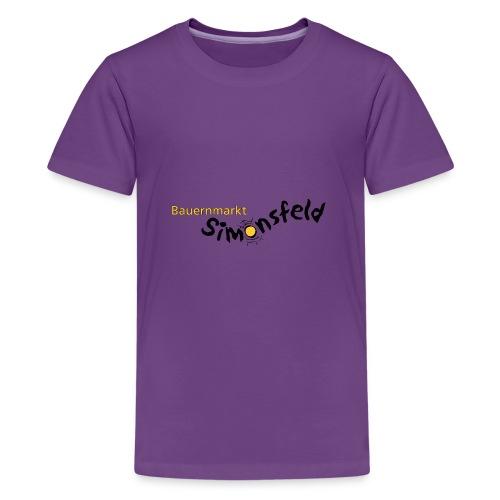 bauernmarkt_simonsfeld - Teenager Premium T-Shirt