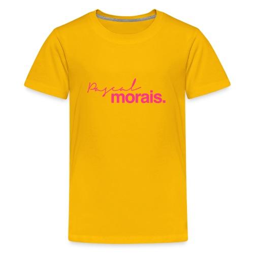 Pascal Morais Logo - Teenage Premium T-Shirt