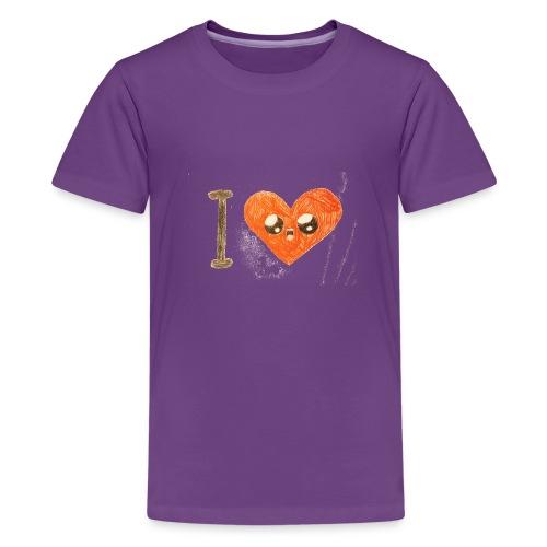 Kids for Kids: heart - Teenager Premium T-Shirt