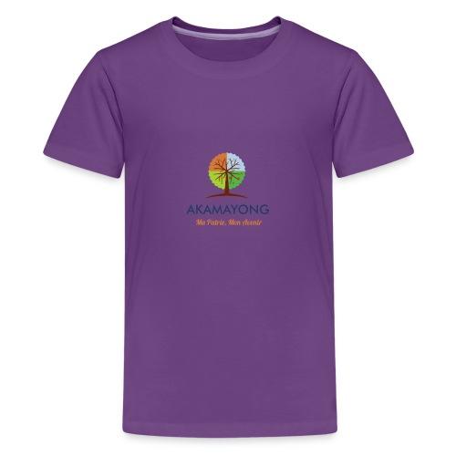 akamayong - T-shirt Premium Ado