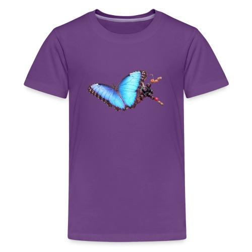 Morpho butterfly - Teenager Premium T-shirt