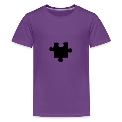 Piece of the Puzzle - Premium T-skjorte for tenåringer