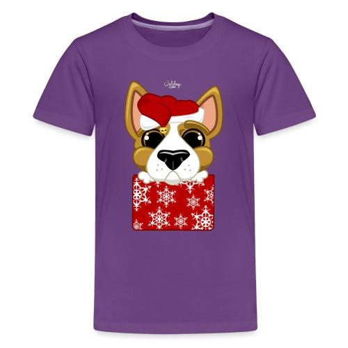 Christmascorgi - Teinien premium t-paita