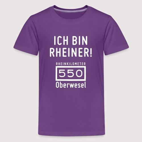 Ich bin Rheiner - Teenager Premium T-Shirt
