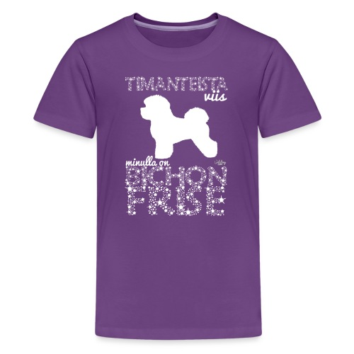 timangibichon - Teinien premium t-paita