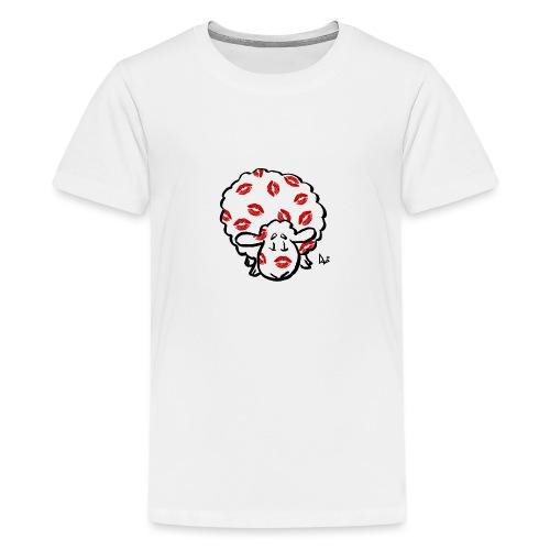 Kuss Mutterschaf - Teenager Premium T-Shirt