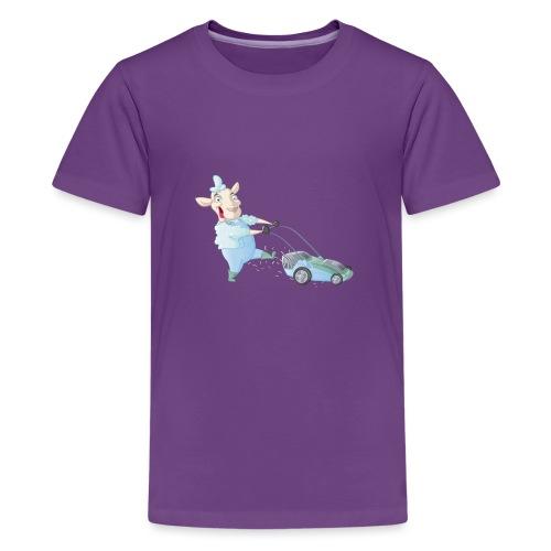 Der Rasen-MÄHER - Teenager Premium T-Shirt