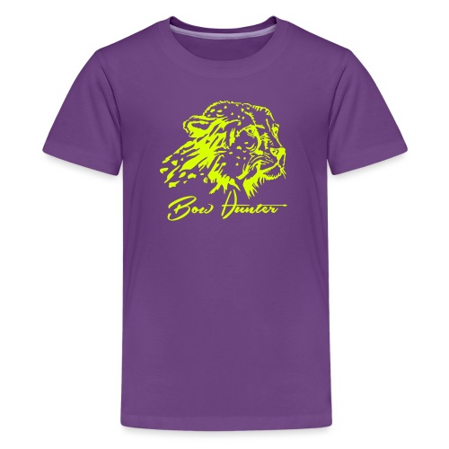 gepard bow hunter - Teenager Premium T-Shirt