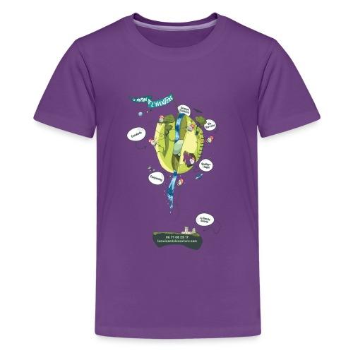 T-shirt Maison de L'aventure - T-shirt Premium Ado